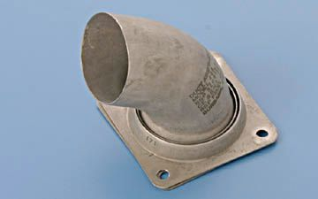 9910298-14 Aircraft Exhaust By-pass elbow