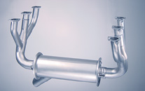 Cessna 182 exhaust system: 182J s/n 57599 and on; 182K, 182L, 182M, 182N, 182P, 182Q, 182R