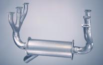 Cessna 185 exhaust system: 185, 185A, 185B, 185C, 185D, 185E thru s/n 2068