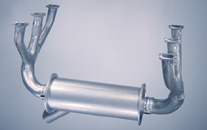 Cessna 185 exhaust system: A185E s/n 2069 and on; A185F