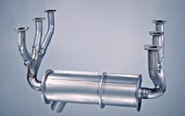 Cessna 182 exhaust system: 182E