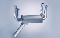 Cessna 177 exhaust system: <br>177