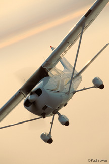 Cessna R172 exhaust system
